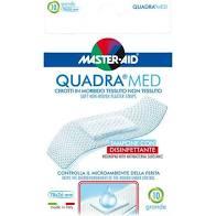 CEROTTO MASTER-AID QUADRA DERMOATTIVO GRANDE 10 PEZZI - farmaciafalquigolfoparadiso.it