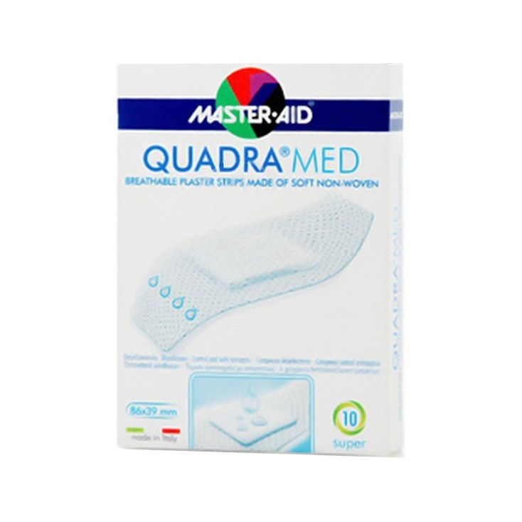 MASTER-AID QUADRAMED DERMOATTIVO SUPER 10 PEZZI - Farmapage.it