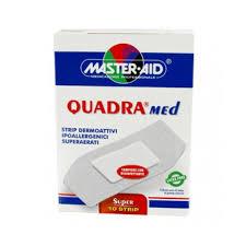 Master-Aid Quadra Cerotto Dermoattivo Super 10 Pezzi - Arcafarma.it