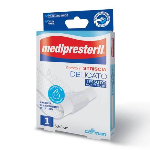 CEROTTO MEDIPRESTERIL IN STRISCE MISURA 8X50CM 1 PEZZO - Farmaconvenienza.it