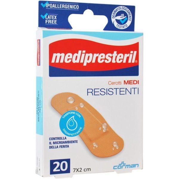CEROTTO MEDIPRESTERIL RESISTENTI MEDI 7X2CM 20 PEZZI - Nowfarma.it