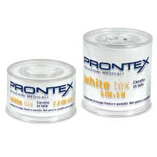 CEROTTO PRONTEX WHITE TEX 5X5 - Iltuobenessereonline.it