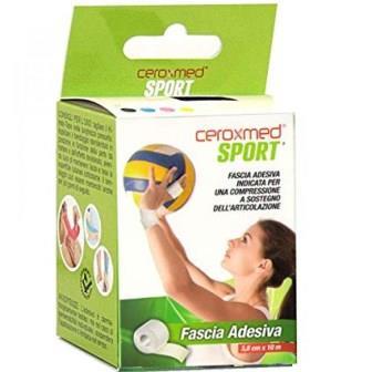 CEROXMED SPORT FASCIA ADESIVA CM 3,80 X 10 M - Farmaconvenienza.it