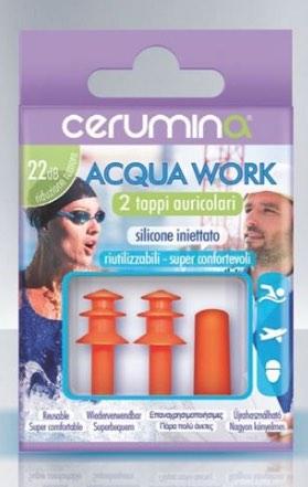 Cerumina Acqua Work 2 Tappi - Farmalilla