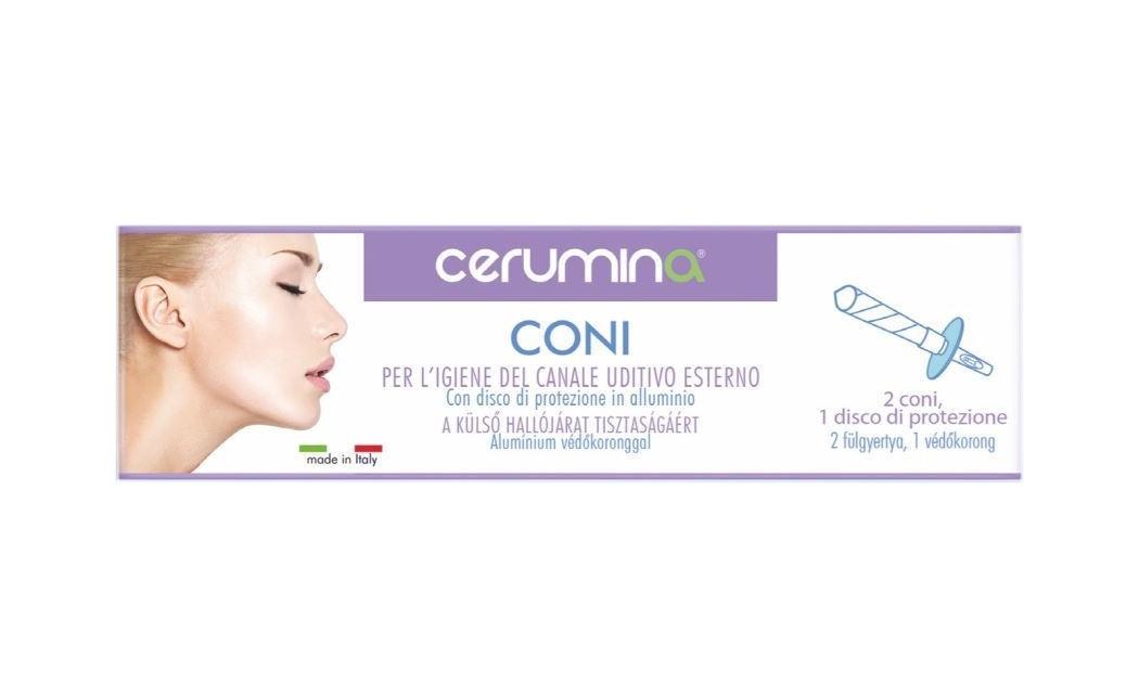 Cerumina Coni Pulizia Orecchie 2 Pezzi - Iltuobenessereonline.it