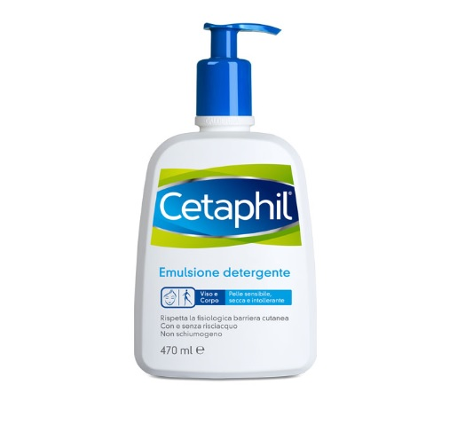 Cetaphil Detergente Fluido Flaconi 470ml - Farmafamily.it