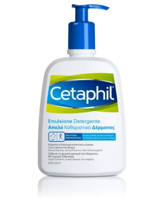 CETAPHIL EMULSIONE DETERGENTE 470 ML PREZZO SPECIALE - Farmaci.me