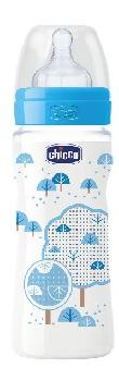 CHICCO BIBERON PERFECT 5 BOY 300 ML IN SILICONE 3 FORI - farmaciafalquigolfoparadiso.it
