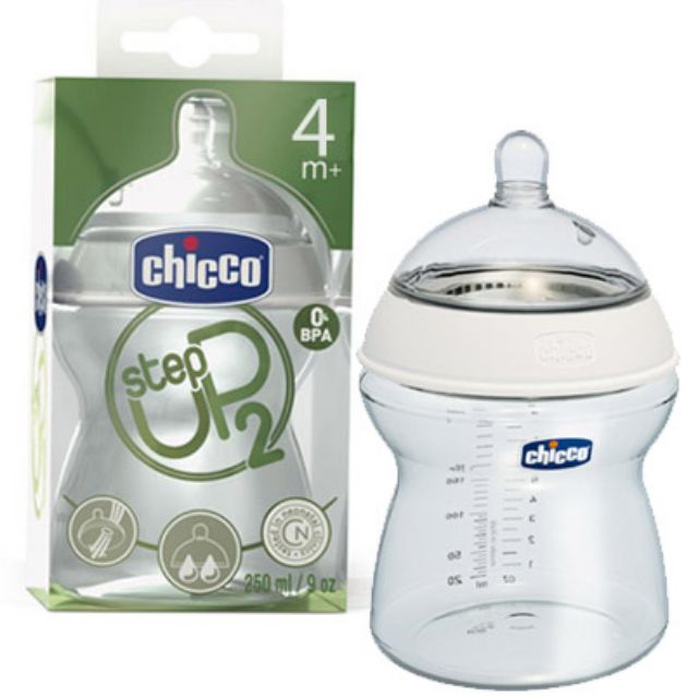 CHICCO BIBERON STEP UP DA 250 ML 2 4 MESI+ - Farmacia Giotti