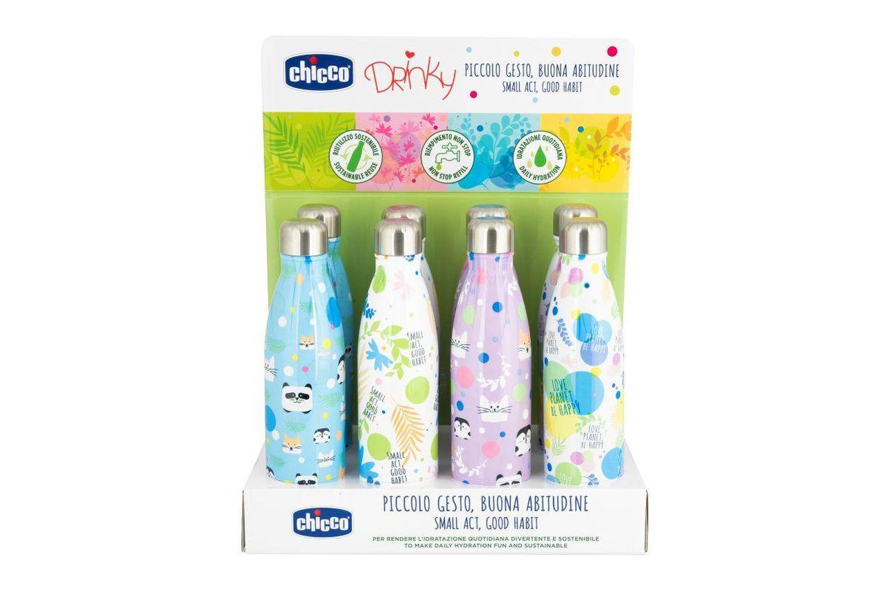 Chicco Bottiglia Inox Display Box 500ml - Arcafarma.it