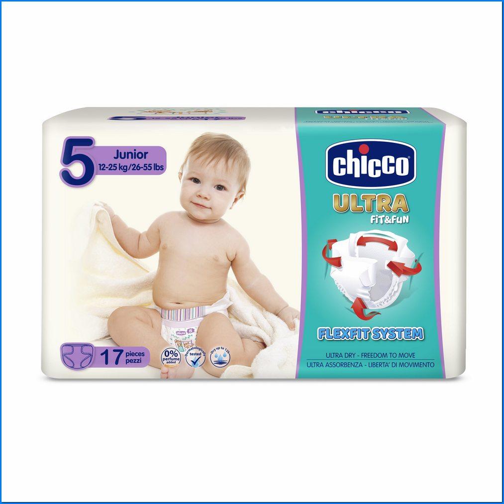 CHICCO PANNOLINO ULTRA CHICCHO JUNIOR 17 X 10 - Farmaconvenienza.it