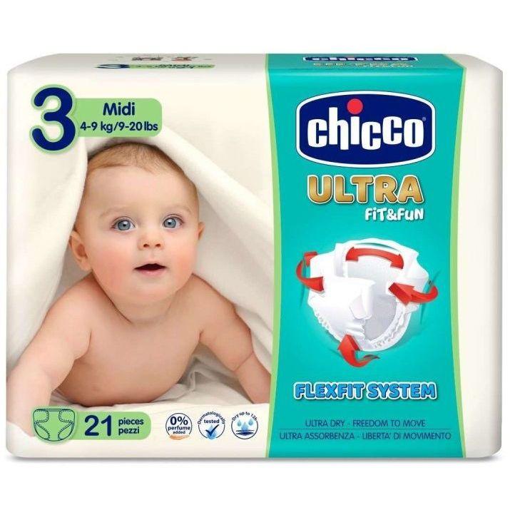 CHICCO PANNOLINO ULTRA CHICCHO MIDI 21 X 10 - Farmaconvenienza.it
