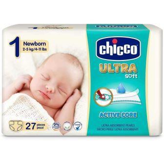 CHICCO PANNOLINO ULTRA CHICCHO NEWBORN 27 X 10 - Farmaconvenienza.it