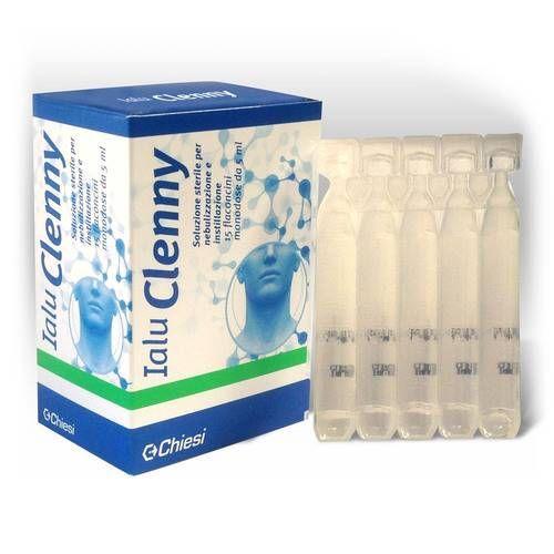 IALU CLENNY 15 FLACONCINI 5 ML SOLUZIONE STERILE PER NEBULIZZAZIONE E INSTILLAZIONE CON ACIDO IALURONICO - Farmafamily.it