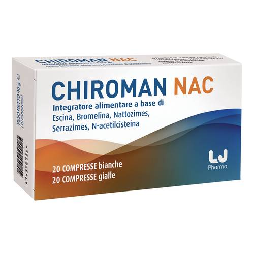 Chiroman Nac 20n Compresse + 20 Capsule - Arcafarma.it