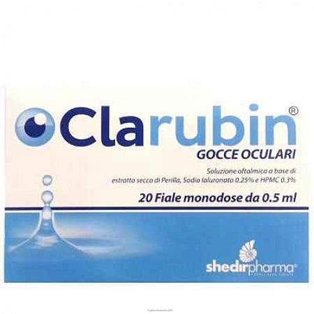 CLARUBIN GOCCE OCULARI 20 FIALE MONODOSE - Farmafamily.it