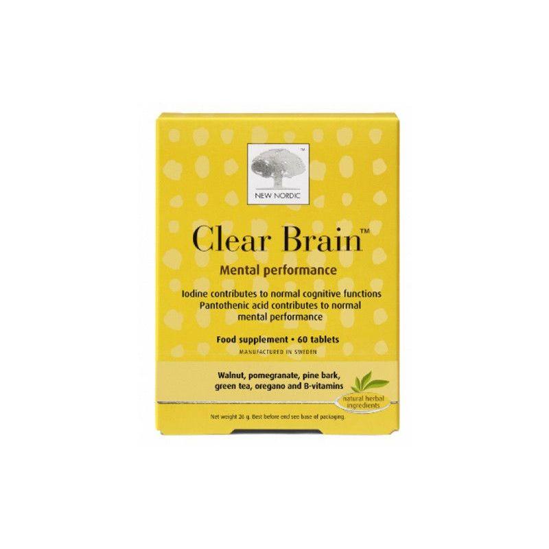 CLEAR BRAIN 60 COMPRESSE - FARMAEMPORIO