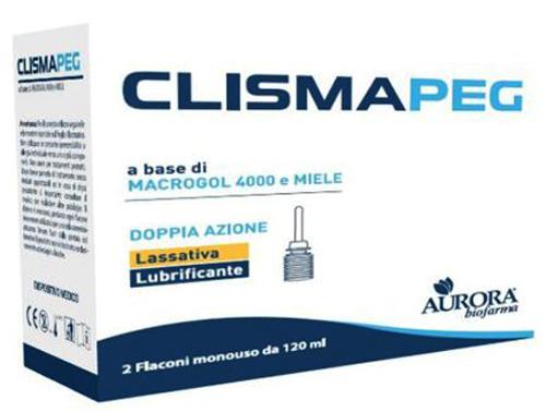 CLISMAPEG CLISMA 2 X 120 ML - Farmacia Centrale Dr. Monteleone Adriano