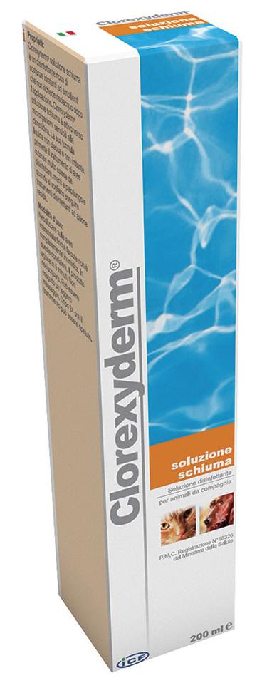 CLOREXYDERM SOLUZIONE SCHIUMA 200 ML - Farmacia Centrale Dr. Monteleone Adriano