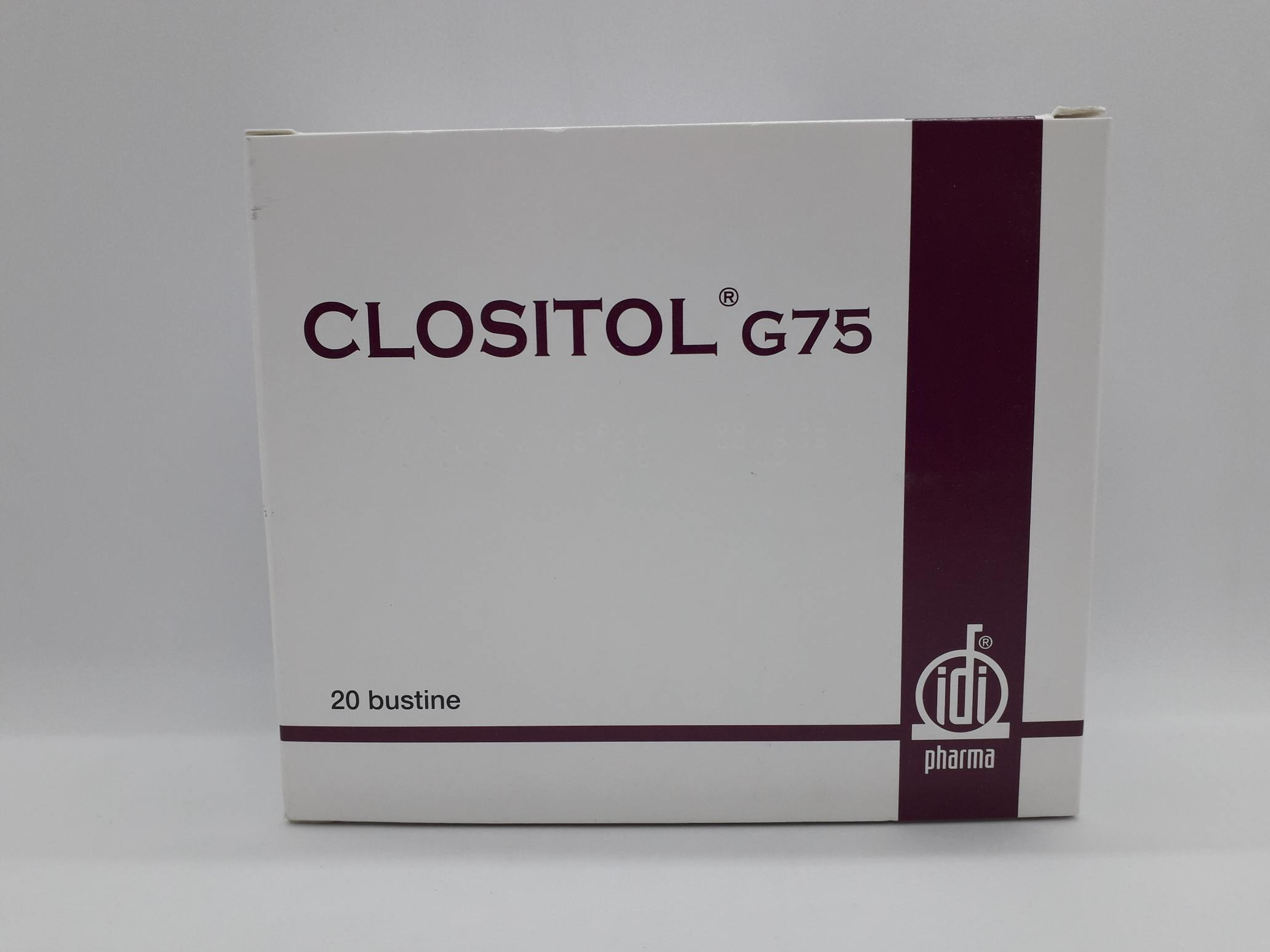 CLOSITOL G75 20 BUSTINE - Farmaciaempatica.it