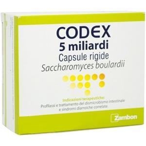 CODEX 12 CAPSULE 5 MILIARDI 250 MG - Nowfarma.it