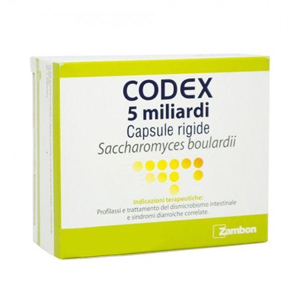 CODEX*30CPS 5MLD 250MG - pharmaluna
