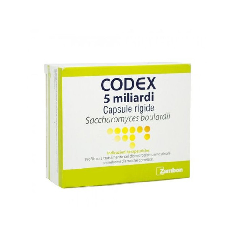 CODEX*30CPS 5MLD 250MG - Farmafamily.it