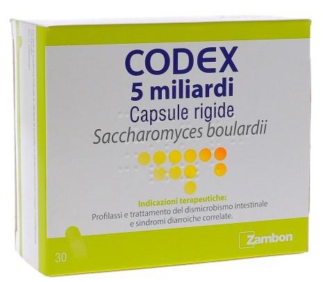 CODEX 5 MILIARDI 30 CPS RIG BL PVC/AL - FARMAEMPORIO