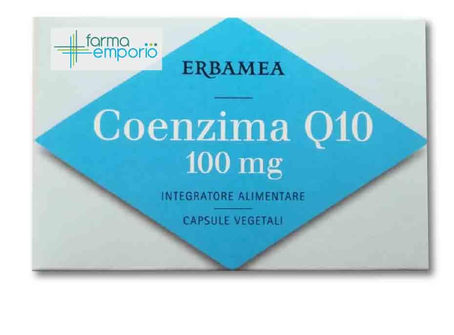 COENZIMA Q10 100 MG 24 CAPSULE 12 G - FARMAEMPORIO