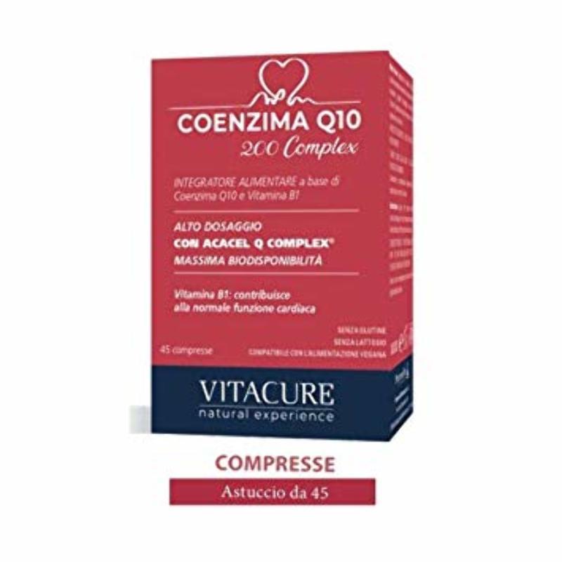 COENZIMA Q 10 200 COMPLEX 45 COMPRESSE - Farmapage.it