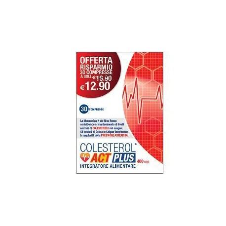 COLESTEROL ACT FORTE 30 COMPRESSE - Farmacia Massaro
