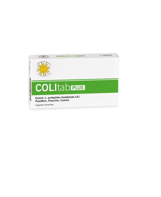 Colitab Plus Integratore Alimentare 30 Capsule - latuafarmaciaonline.it