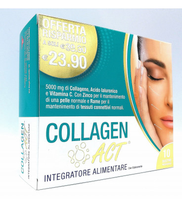 Collagen Act 10 bustine monodose - latuafarmaciaonline.it