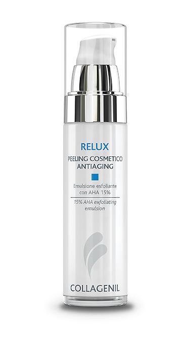 Collagenil Relux Peeling Cosmetico Antiaging Emulsione Esfoliante con AHA 15% 50 ml - La tua farmacia online