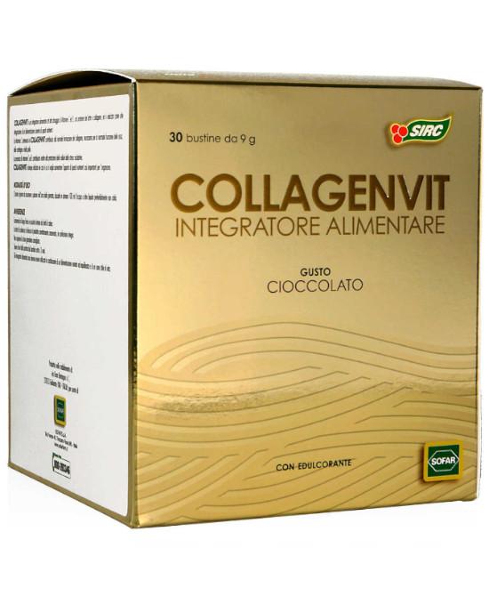 COLLAGENVIT CIOCCOLATO 30 BUSTE ASTUCCIO 270 G (scad. 11/21) - Farmaci.me
