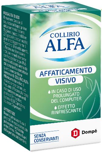 COLLIRIO ALFA AFFATICAMENTO VISIVO 10 ML - Farmacia Centrale Dr. Monteleone Adriano