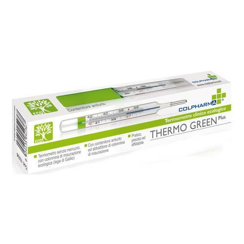 COLPHARMA THERMO GREEN PLUS TERMOMETRO - Farmacento