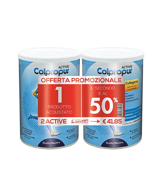 Colpropur Active Neutro 2 x 300 gr Promo pack  - Zfarmacia