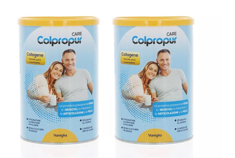 COLPROPUR CARE VANIGLIA 300 G BIPACK  - Farmacia 33