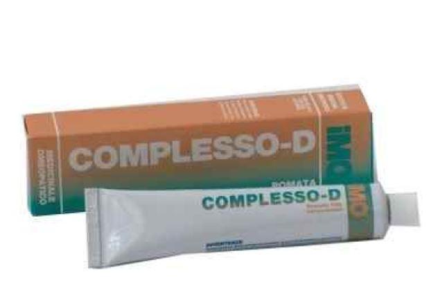 COMPLESSO D DERMA CREMA POMATA 50 ML - Farmacia33
