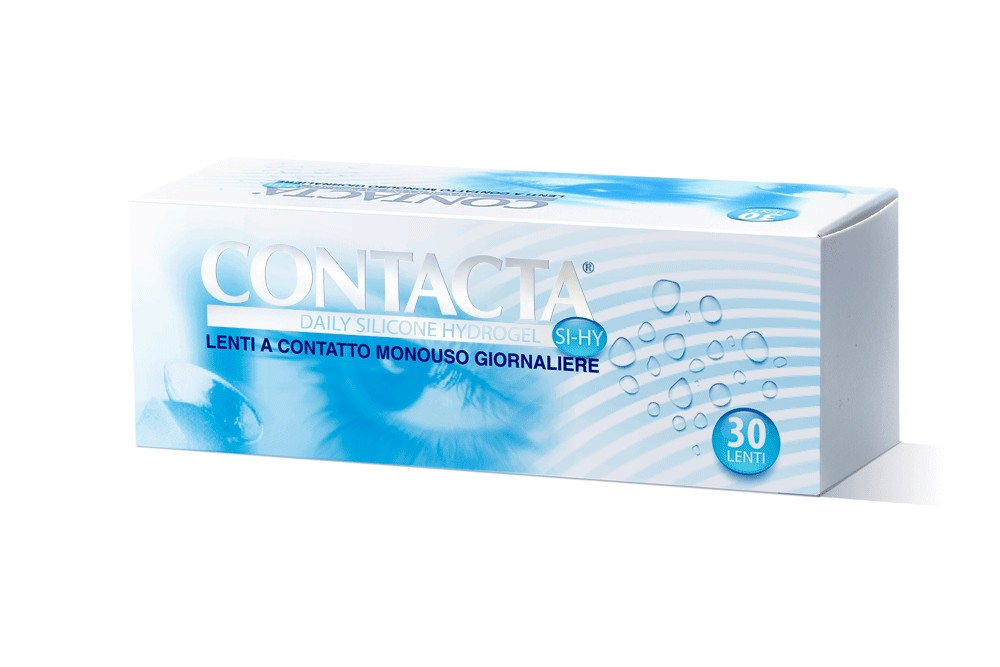CONTACTA DAILY LENS SILICONE HYDROGEL 30 LENTI MONOUSO GIORNALIERE -3,75 DIOTTRIE - Farmafamily.it