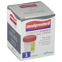 Contenitore per Urina Medipresteril con tappo 120ml - Arcafarma.it