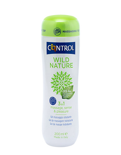 CONTROL NATURAL MASSAGE GEL 200 ml - Zfarmacia