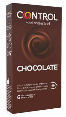 CONTROL NEW CHOCOLATE 6 PEZZI - Farmacia 33