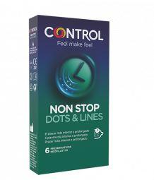 CONTROL NON STOP DOTS&LINES 6 PEZZI - Farmacia 33