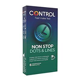 CONTROL NON STOP DOTS&LINES 6 PEZZI - Farmafirst.it