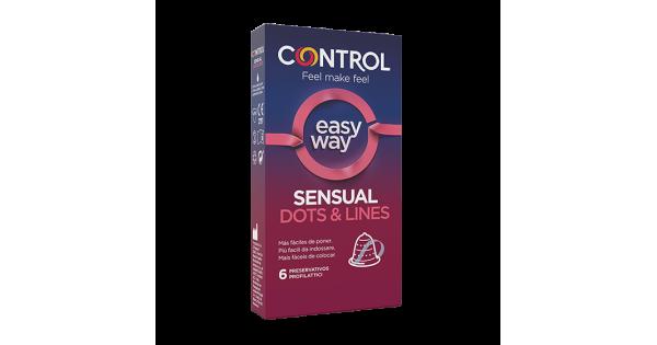 CONTROL SENSUAL DOTS&LINES 6 PEZZI - Farmacia Massaro