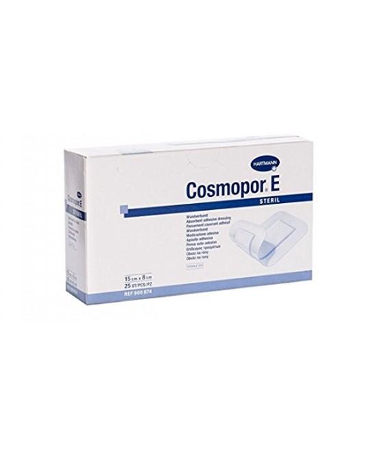 COSMOPOR E CEROTTO ADESIVO PER MEDICAZIONI IN TESSUTO NON TESSUTO STERILE 7,2 X 5 CM 10 PEZZI - Spacefarma.it