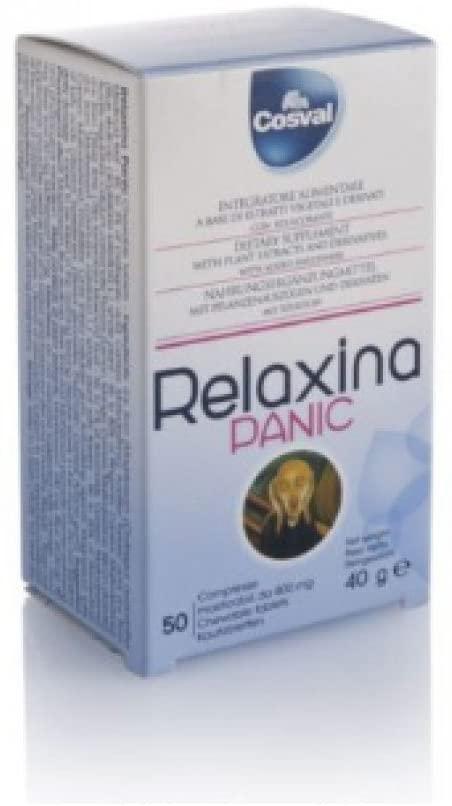 Cosval Relaxina Panic - 50 compresse da 800 mg - keintegratore.com
