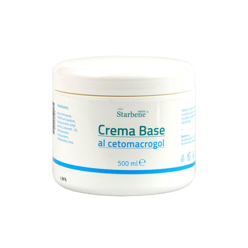 Crema Base Vaso 500ml - Arcafarma.it